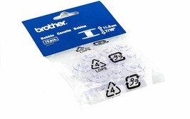 10 Pack Brother SA156 Top Load Clear Plastic Bobbins 7/16 inch Deep Sewi... - $15.83