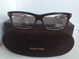 New Tom Ford TF 5146 050 54mm Rx Black Brown Men's Eyeglasses Frame - $235.99