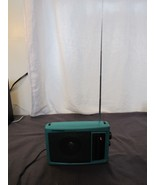 Teal Soundesign AM/FM Portable Radio Model No. 2236TL  AC/Battery Powered - $24.87