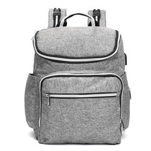 20L Multifunctional USB Mummy Nappy Backpack Maternity Baby Diaper Baby ... - $60.20