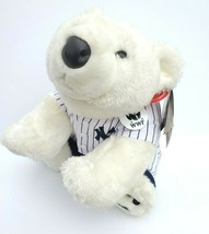 Build a Bear WWF World Wildlife Fund Polar Bear Plush NY Yankees Outfit 2004 MLB - $45.00