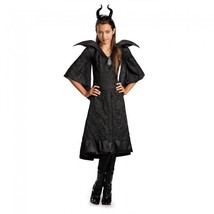 Disney Maleficent Taufe Schwarz Abendkleid Kinder Filmklassiker Kostüm Cosplay - $34.63