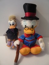 "Vintage Disney DuckTales Scrooge McDuck 19"" Plush Stuffed Duck + Baby Sc... - $64.35"