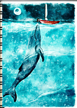 Inspirational Journal Whale - $10.95