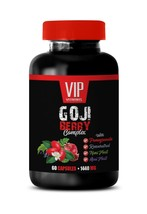 goji berry antioxidant - Goji Berry Extract 1440mg - anti aging capsules 1B - $13.06