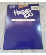 Vtg Three Hanes Too Day Sheers Size CD Little Color Reinforced Toe Panty... - $18.46