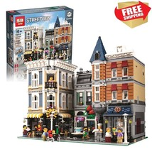 Lego Compatible City Creator The Assembly Square  Building Toy Blocks 40... - $245.00