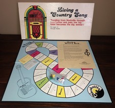 Vtg Living A Country Song 80s Country Music Board Game Nashville Patnomar Rare - $140.95