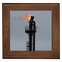 Industrial Oil Rig Wall Tile Art (Home Decor) - $12.48