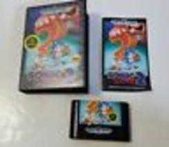 Sonic the Hedgehog 2 - Sega Genesis Video Game CIB Complete NFR Version - $15.79