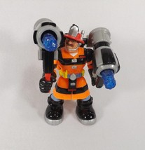 FISHER PRICE RESCUE HEROES ACTION FIGURE BILLY BLAZES LAVA SQUAD - $18.39