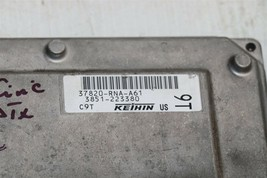 06-08 Honda Civic 1.8 A/T ECU PCM Engine Computer & Immobilizer 37820-RNA-A61 image 2