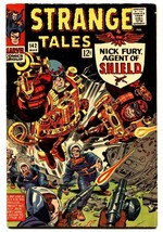 STRANGE TALES #142 comic book-NICK FURY/DOCTOR STRANGE-KIRBY ART VF- - $52.15
