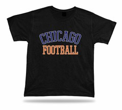 Chicago  FOOTBALL t-shirt tee Illinois stadium apparel style design USA - $7.57