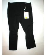 New NWT Designer Womens Miu Miu Italy Pants Black 46 12 Knee Seams Uniqu... - $450.00