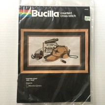 Hunting Gear Bucilla Counted Cross Stitch Kit Hat Duck Shell Casing Phea... - $24.74