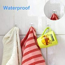 Wall Hooks, ZCgel Adhesive Hooks with Heavy Duty, Washable and Reusable, Waterpr image 3