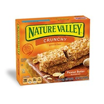 Nature Valley Crunchy Granola Bars, Peanut Butter, 12 Count, Pack of 6 - $40.50