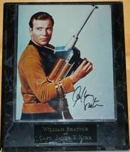 Star Trek William Shatner as the Classic Captain Kirk Autographed Photo Plaqued - $145.12