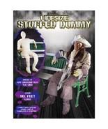 Halloween Stuffed Dummy Spooky Prop Stuffed Head Holiday Party Decor Dec... - $68.88