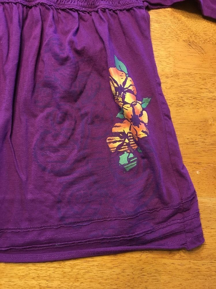 Arizona Girl's Purple Halter Top Shirt / Blouse Size: Medium image 6