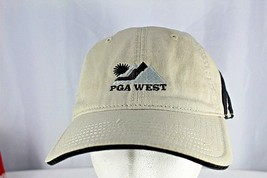 Adidas PGA West Golf Tan Baseball Cap Adjustable  - $18.99