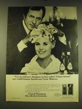 1967 Clairol Shampoo Ad - Use an ordinary shampoo on hair color? - $14.99