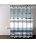 DKNY Urban Lines Magnet Gray Gray Stripe Shower Curtain - $37.00