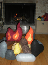 Plush Campfire Set- Large - $85.00