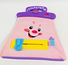 Fisher-Price Laugh & Learn Musical Talks Sings Pink Purse Toy - $17.81