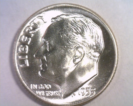 1955 ROOSEVELT DIME GEM / SUPERB UNCIRCULATED GEM/SUPERB UNC. NICE ORIGI... - $20.00