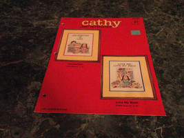 Cathy Just Necessities #84028 Guisewite Studio Cross Stitch - $2.99