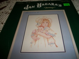 "Jan Hagara's ""Jenny"" Cross Stitch Leaflet No. 84007 - $8.00"