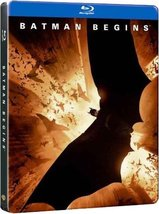 Batman Begins Best Buy Exclusive Steelbook [Blu-ray]