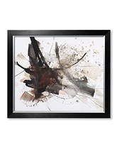 DecorArts - Abstract Art Abstract brush painting, Giclee Prints Modern A... - $111.31