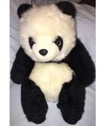 "1988 From the world of Smile International 12"" Plush Panda Bear Cute Sof... - $16.82"
