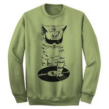 Dj Scratch Cat Music Sweatshirt - $29.99+