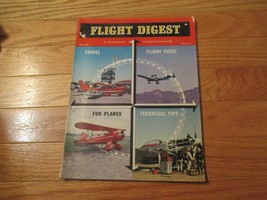 Flight Digest  Aviation Flying Airplanes Planes Aircraft Magazine Fall 1969 - $12.99