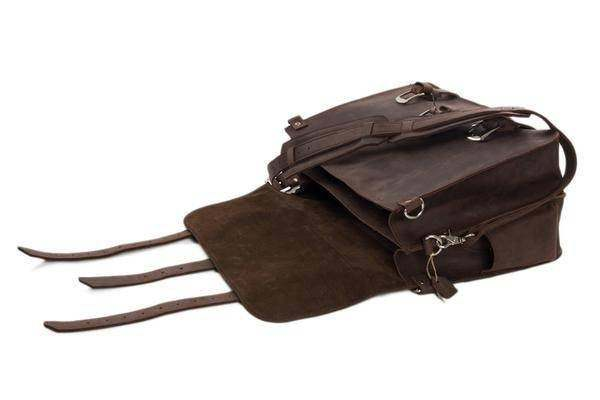On Sale, Multi-Purpose Leather Travel Bag, Duffel Bag, Leather Backpack image 4
