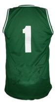 No Limit #1 Basketball Jersey Sewn Green Any Size image 2