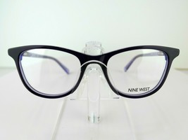 Nine West NW 5165 (500) Purple / Glitter 48-17-135 PETITE FIT Eyeglass F... - $37.95