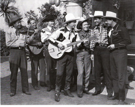 "Roy Rogers  & The Sons of The Pioneers  8""X10"" B&W RR-15A - $4.90"