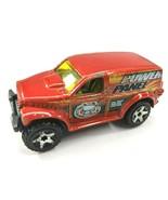Hot Wheels Power Panel Die cast SUV Truck 2002 Orange Loose - $9.74