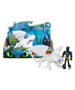 How To Train Your Dragon The Hidden World: Hiccup & Lightfury Mint in Box - $21.88