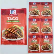 Lot of 6 McCormick Gluten Free Taco Seasoning Spices Mix 1.25 ozpacks B... - $17.95