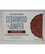 Schmidt's Cedarwood + Juniper Natural Soap 5 oz Bar - $6.88