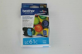 LC61C BROTHER cyan color ink Printer MFC 295CN 290c 490cw 495cw 790cw 79... - $11.26