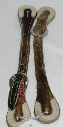 Unbranded Hair Covered Overlay Adult Spur Straps Multi Colored