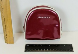 Shiseido Pink Zippered Cosmetic Makeup Bag B31 - $8.91