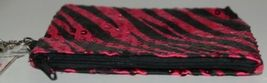 3C4G Three Cheers For Girls Fuchsia Sequin Black Zebra Striped Tote and Wristlet image 6
